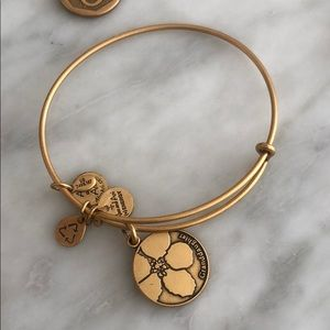 Granddaughter Alex and ani bracelet (gold)